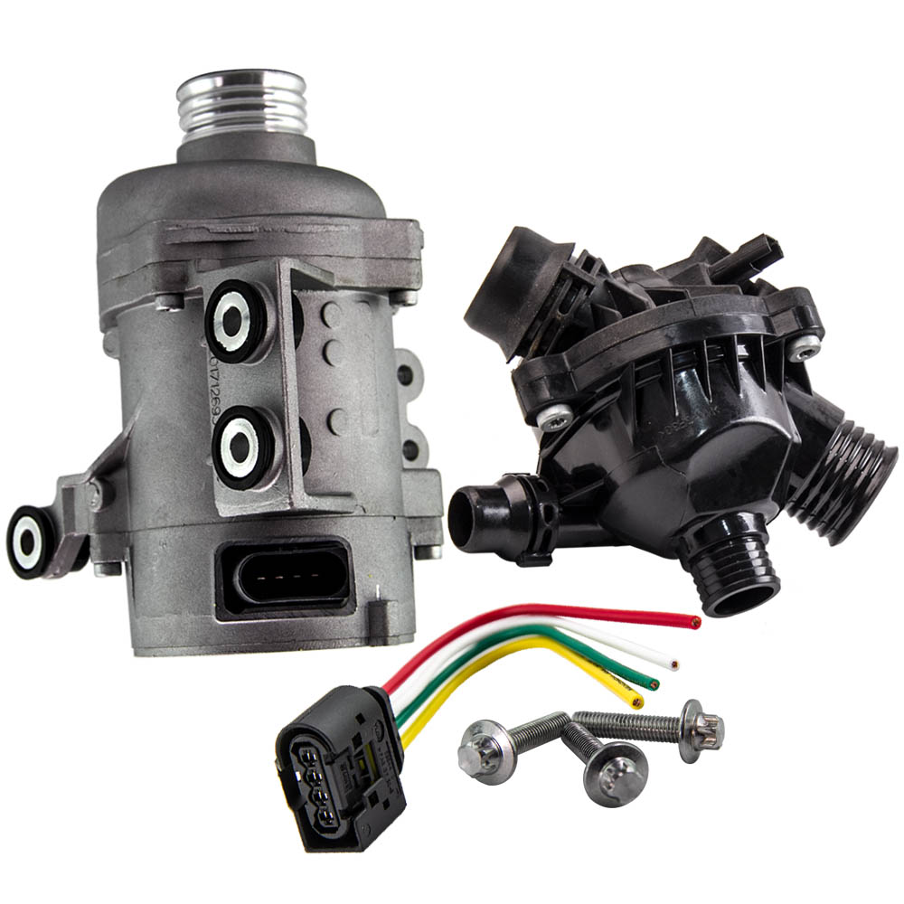 New Electric Water Pump+Thermostat For BMW E90 130i 323i