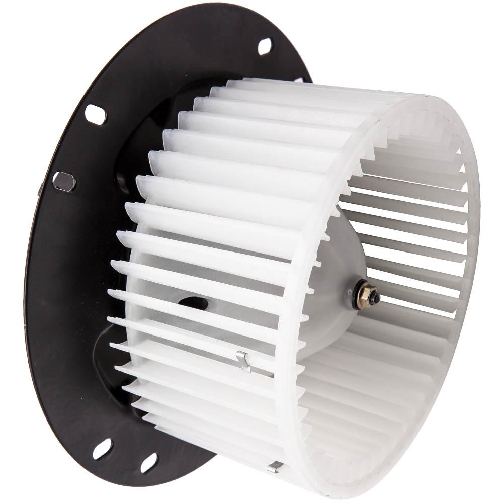 A//C Heater Blower Motor w// Fan Cage for 97-13 Ford E350 Van E250 E150 E Series